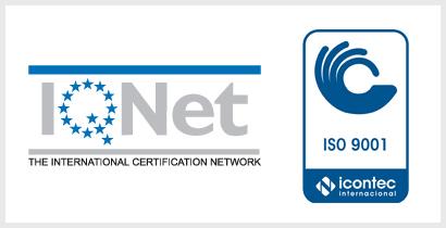 Sellos de Sistema de Gestión de Calidad ISO 9001:2008